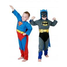 Batman To Superman Reversible Child Costume