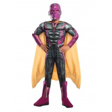 Vision Avengers Aaou Deluxe Child Costume