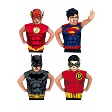 DC Comics Boys Partytime Asst 32 Pack for Child