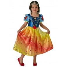 Snow White Rainbow Deluxe Child Costume