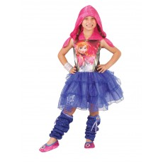 Anna Disney Frozen Hooded Child Dress