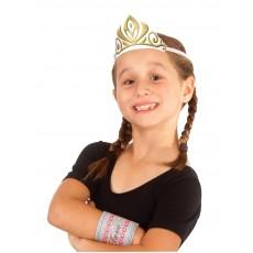 Anna Disney Frozen Fabric Child Tiara - Accessory