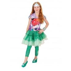 Ariel The Little Mermaid Hooded Child Dress