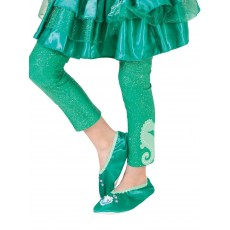 Ariel The Little Mermaid Footless Child Tights - Accessory