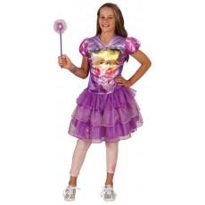 Rapunzel Tangled  Hooded Child Dress