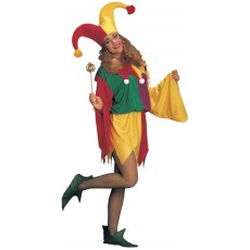 Kings Jester Circus Adult Costume