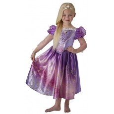 Rapunzel Tangled  Rainbow Deluxe Child Costume