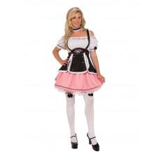 Fraulein Oktoberfest Costume Plus Adult Size