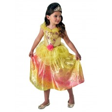 Belle The Beauty & The Beast Rainbow Deluxe Child Costume