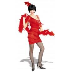 Roarin Red Flapper 1920s Adult Dress