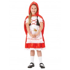 Little Red Riding Hood Fairytale Girl Child Costume