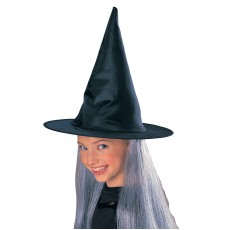 Witch Hat With Grey Hair for Child - Accessory