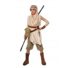Rey Star Wars Premium Deluxe Child Costume