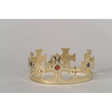 Silver Adult Crown Fairytale - Accessory