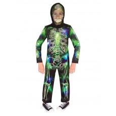 Spooky Glow In The Dark Skeleton Halloween Child Costume