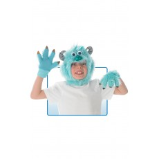 Sully Disney Headpiece And Gloves - Accessory