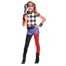 Harley Quinn Suicide Squad DC Superhero Girls Deluxe Child Costume