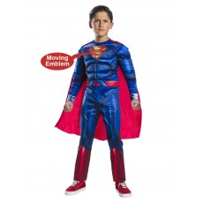 Superman Deluxe Boy Child Costume With Lenticular