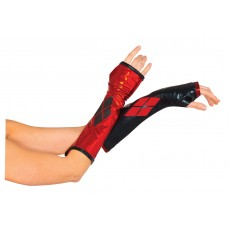 Harley Quinn Suicide Squad Gauntlets for Adult - Accessory