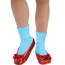 Dorothy Wizard of Oz Sequin Shoe Covers for Adult - Accessory