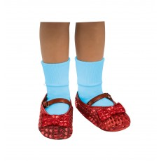Dorothy Wizard of Oz Sequin Shoe Child Covers - Accessory
