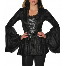Soul Crushed Velvet Adult Top Witches