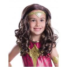 Wonder Woman DC Child Wig - Accessory