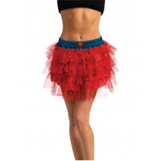 Supergirl Skirt With Adult Sequins