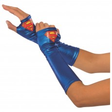 Supergirl Gauntlets for Adult - Accessory