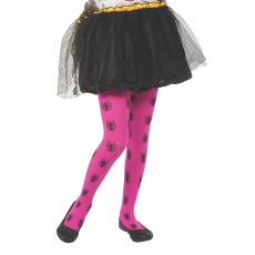 Spider-Girl Pink Child Tights - Accessory