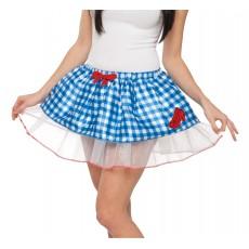 Dorothy Wizard of Oz Tutu Adult Skirt