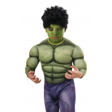 Hulk Child Wig - Accessory