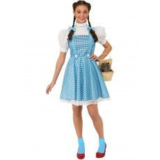 Dorothy Wizard of Oz Deluxe Adult Costume