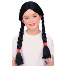 Native American Girl Child Wig Western - Accessory