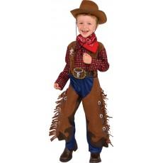 Little Wrangler Cowboy Western Child Costume
