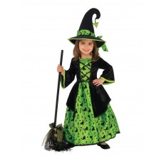 Green Witch Child Costume