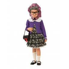 Little Old Lady Fairytale Child Costume