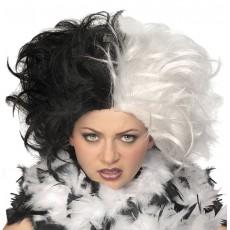 Miss Spot Adult Wig 101 Dalmatians - Accessory