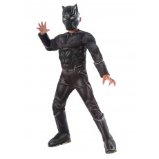 Black Panther Deluxe Black Child Costume