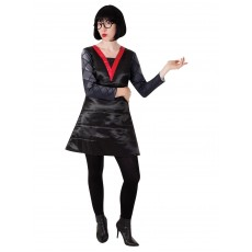 Edna Mode The Incredibles Deluxe Adult Costume