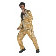 Elvis Celebrities Gold Suit Collector's Edition for Adult