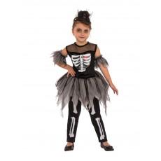 Skelerina Girl's Child Costume Halloween