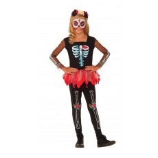 Scared To The Bone Skeleton Halloween Child Costume
