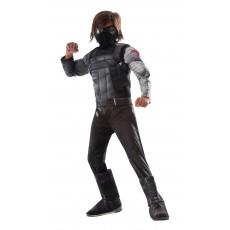Winter Soldier Captain America Civil War Deluxe Child Costume