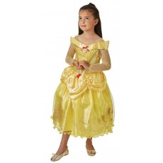 Belle The Beauty & The Beast And The Beast Deluxe Child Ballgown