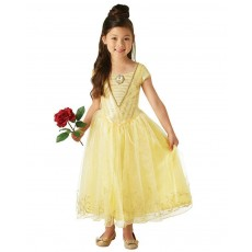 Belle The Beauty & The Beast Live Action Deluxe Child Child Costume