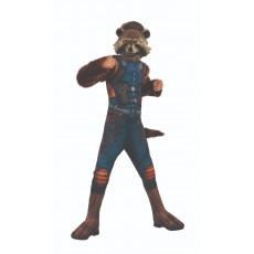 Rocket Raccoon Deluxe Child Costume Guardians of the Galaxy