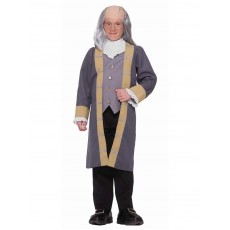 Benjamin Franklin Celebrities Classic Child Costume
