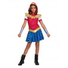 Wonder Woman DC Superhero Girls Hoodie Child Costume