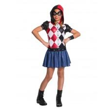 Harley Quinn Suicide Squad DC Superhero Girls Hoodie Child Costume
